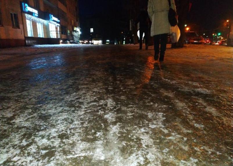 Резкое потепление в Смоленской области предвещает гололед