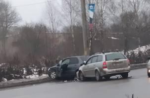 ДТП в Смоленске остановило движение троллейбусов