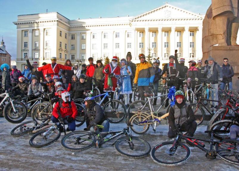 В Смоленске открыли велосезон