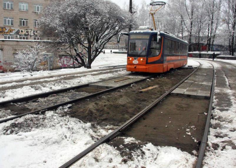 Ремонт Трамвайного проезда «прокатили» по срокам