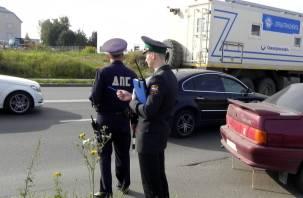 Лишённый прав автомобилист за штраф ГИБДД убирал улицы