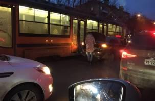 В Смоленске стали трамваи