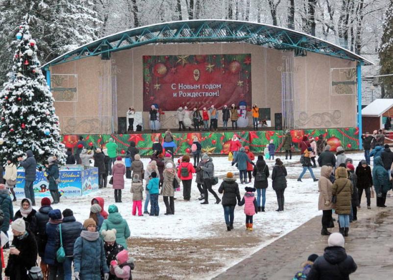 В центре Смоленска пройдут рождественские гуляния
