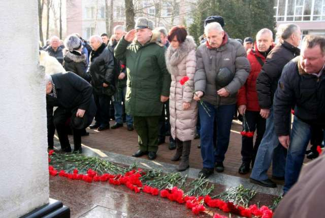 В Смоленске почтили память героев Афганистана