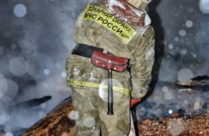 В Смоленске в гаражно-строительном кооперативе горела машина