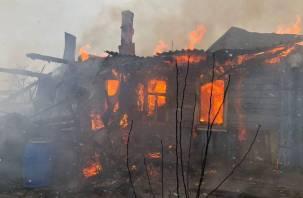 В Вязьме в пожаре погиб мужчина