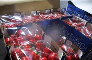 Перец фаршированный трипсом не пустили из Беларуси в Россию