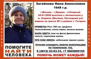 В Гагаринском районе пройдут масштабные поиски рыжеволосой женщины