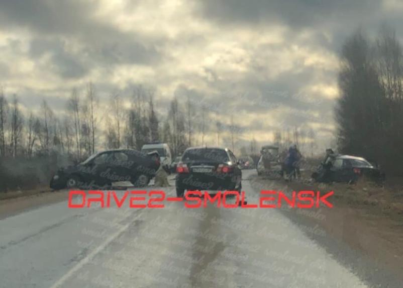 Оба водителя погибли. Уточнённая информация о ДТП в Смоленском районе