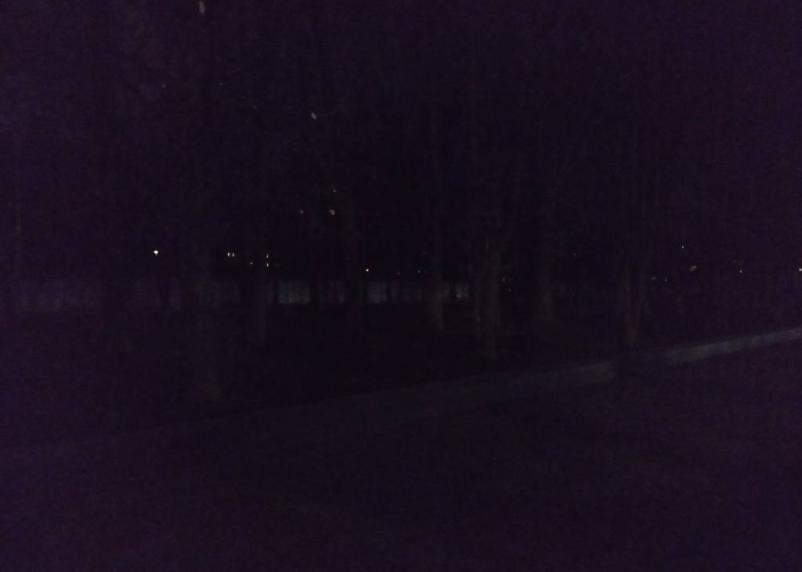 Мемориал в Смоленске погружен во тьму