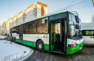 В Смоленске появился дополнительный автобусный маршрут