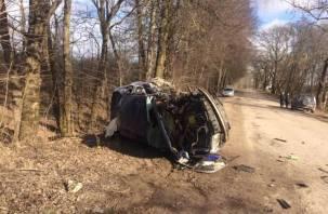 В Смоленском районе погиб парень в ДТП