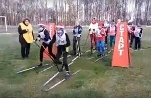 В Сафоново прошёл чемпионат по ложным гонкам