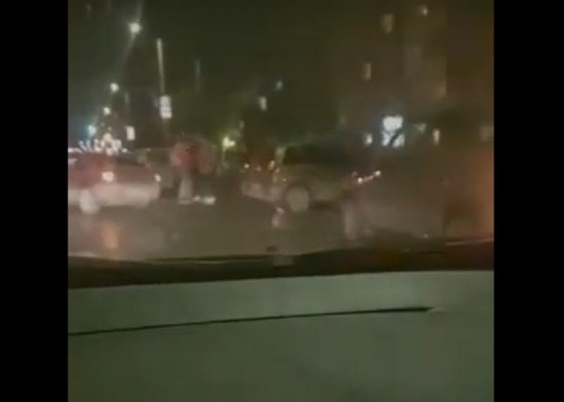 В Смоленске масштабное ДТП сняли на видео
