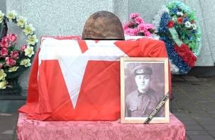 Погибшего под Смоленском солдата захоронят на Украине