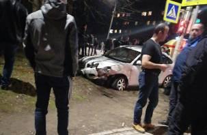 Уточненные данные по ДТП в Вязьме. Машина вылетела на тротуар и сбила пешехода