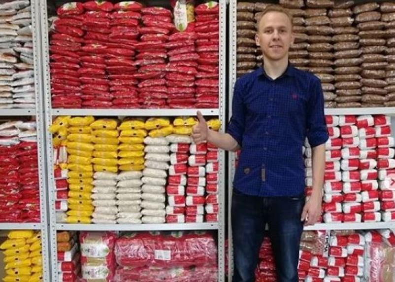 Житель Тверской области привез в приют 667 пачек гречки, риса и макарон