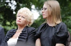 В режиме самоизоляции Собчак «застрелила» Богомолова