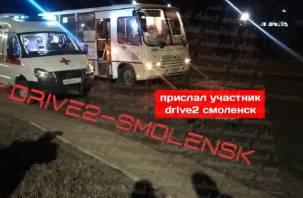 В Смоленске автобус насмерть сбил мужчину