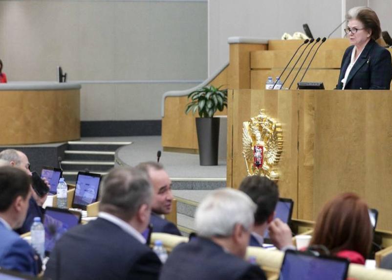 Валентина Терешкова предложила обнулить сроки президентских полномочий