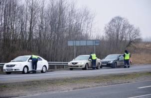 На выходных на смоленских дорогах проходят сплошные проверки водителей