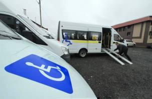 В Смоленске пассажирские микроавтобусы оборудуются аппарелями