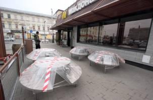 В Смоленской области ограничили работу ТРЦ и общепита