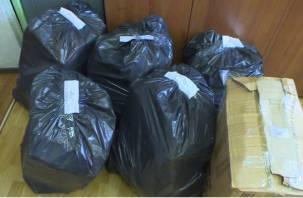 В Смоленске изъяли 300 тысяч пачек нелегального табака