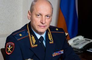 Генерал Салютин не руководит смоленским УМВД