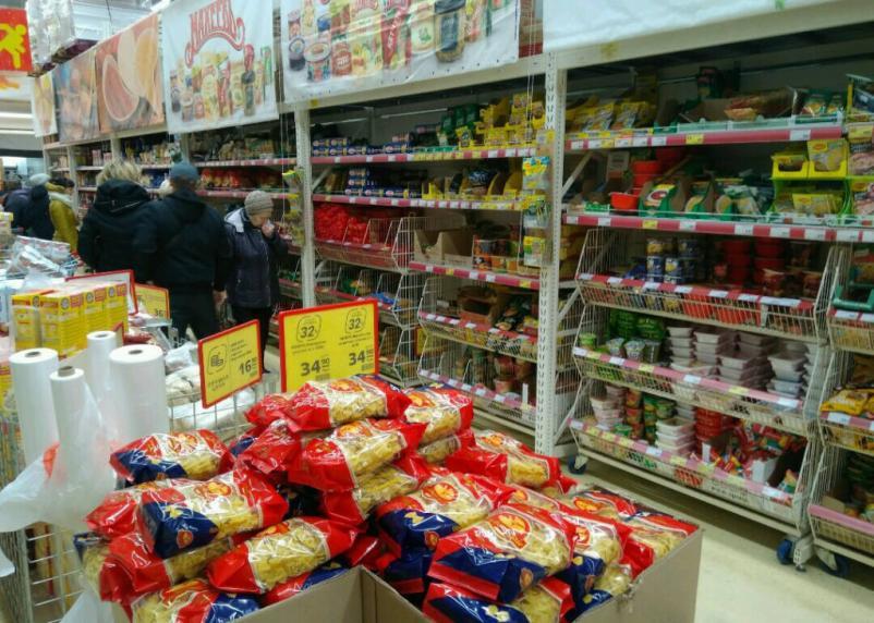 Как в Смоленске за год изменись цены на продукты