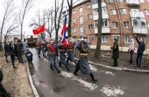 В Смоленске участницу войны с 95-летием поздравили парадом