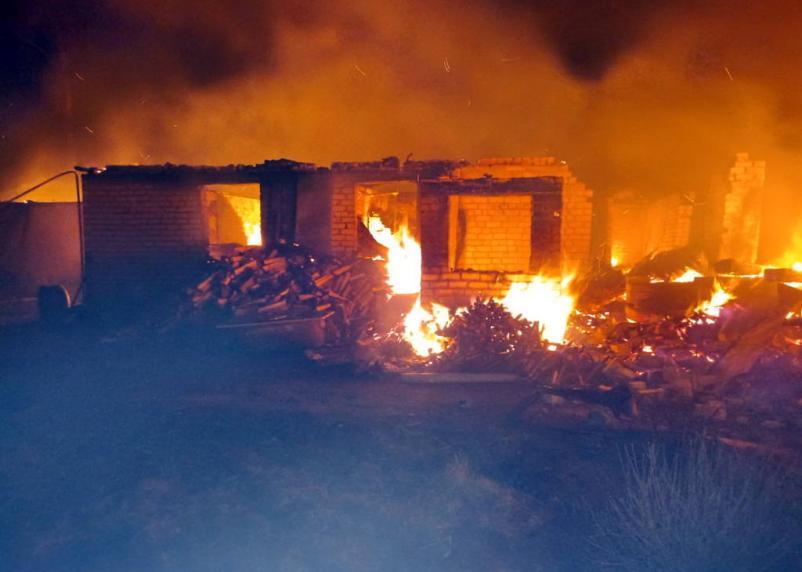 При пожарах в Смоленской области погибли 40 человек