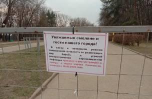 Что можно, а что нет в Смоленске. Обзор запретов из-за коронавируса