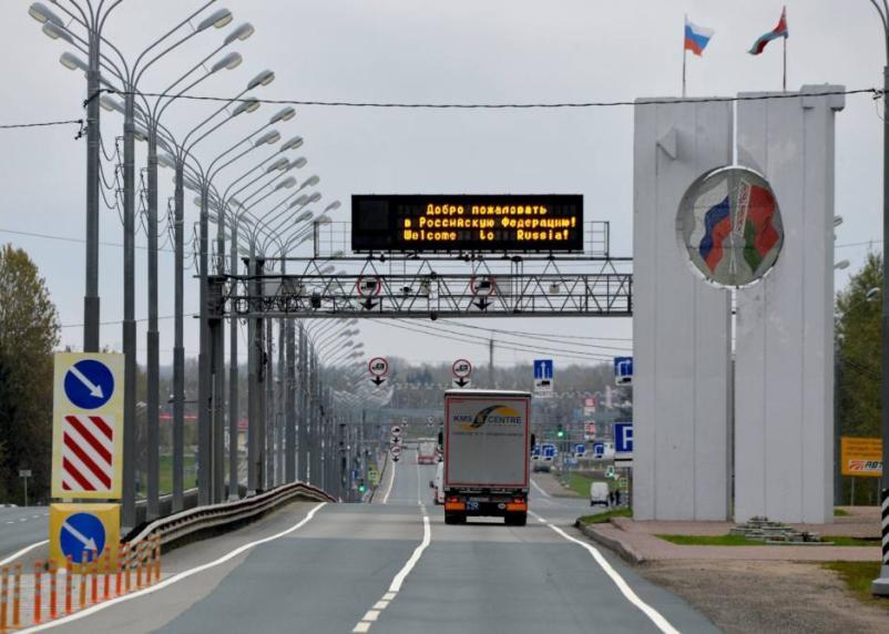 Россия полностью закроет границу с 30 марта