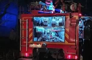 В Велижском районе на трассе загорелась фура