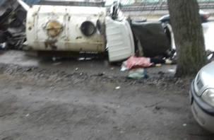 Скончался второй участник ДТП. В ГИБДД рассказали о страшной аварии на Витебском шоссе
