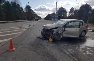 Пострадала женщина. Смолянин на грузовике попал в аварию в Пскове