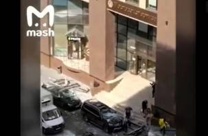 В бизнес-центре Москвы произошёл взрыв