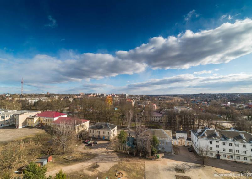 Появились снимки городов воинской славы Смоленской области из космоса