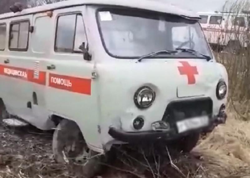 «Поехал к подруге на помощь». В Смоленской области угнали карету скорой помощи во время вызова