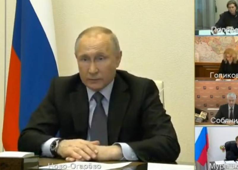 «Все больше случаев». Путин заявил об ухудшении ситуации с коронавирусом в России