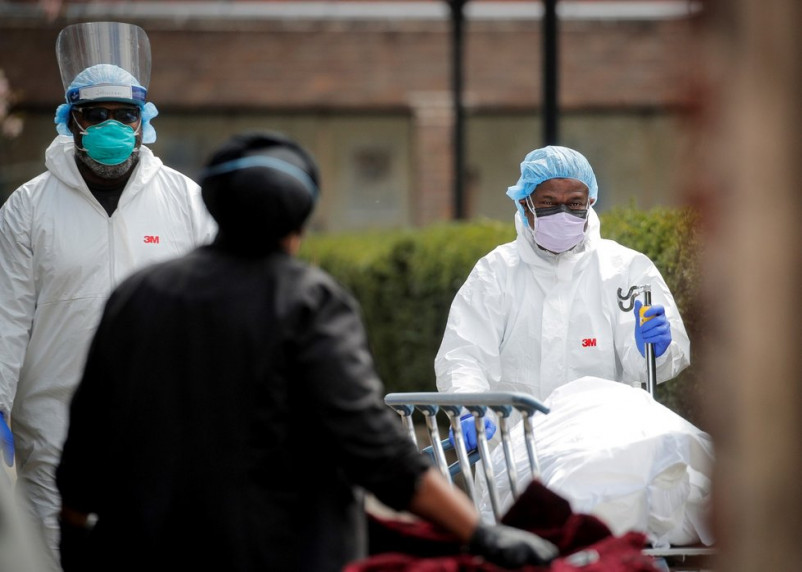 «Слышал, трупы привозят даже в Центральный парк». Малкин рассказал о катастрофической ситуации с коронавирусом в Нью-Йорке