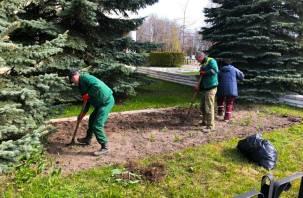 В Смоленске стартовали работы по озеленению города