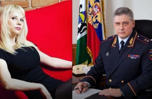 Виновата подчиненная блондинка? СМИ рассказали, из-за чего мог уйти в отставку экс-начальник МВД Смоленской области