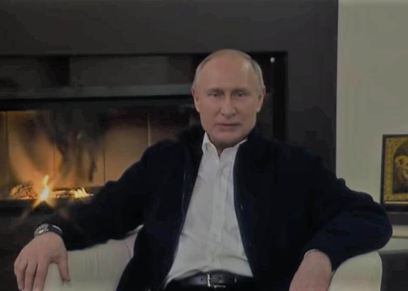 «Сам не плошай». Путин обратился к россиянам