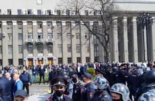Владикавказ ждут негативные последствия. В Кремле прокомментировали акцию протеста