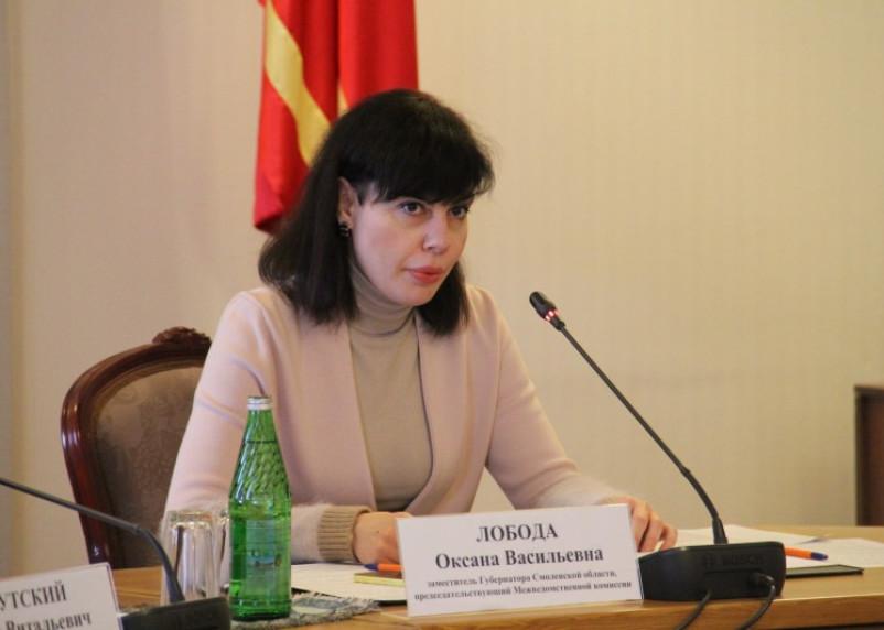 Экс-замгубернатора Смоленской области Оксана Лобода подала в суд на бывшего работодателя