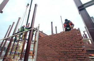 Будущий «коронагоспиталь» в Смоленске: основания стен почти готовы