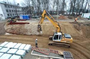 «Коронавирусный» госпиталь в Смоленске строят под музыку