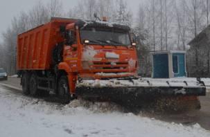 Обслуживание дорог в Смоленской области идет в штатном режиме